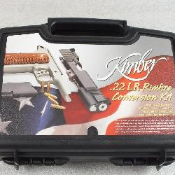 Kimber .22 LR Rimfire Conversion Kit for Most 1911 Pistols in Case with Magazine