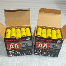 Shot shells and reloading supplies