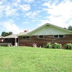 Brick ranch home