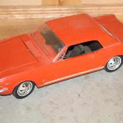 Wen-mac 1966 Ford Mustang GT toy car