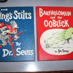 Vintage Dr. Seuss books- nice condition