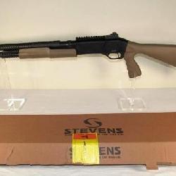 New Stevens model 320 12 Gauge Pump Action with Security Pistol Grip Shotgun