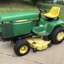 1987 John Deere 430 Tractor,
