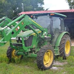 John Deere Cab Tractor1930 Alsup Mill Rd Absolute Auction