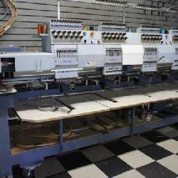 Happy 4 Head 12 Nidle Embroidery Machine