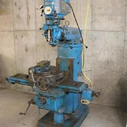 Bridgeport Milling Machine, Pivoting Head
