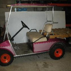 Gas Powered Club Car Golf Cart
