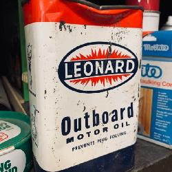 Leonard Outboard Motor Oil