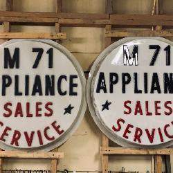 M71 Appliance Sales Advertising