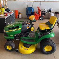 John Deere tractor Sept 19 St.Louis Auctions Woodruff WI