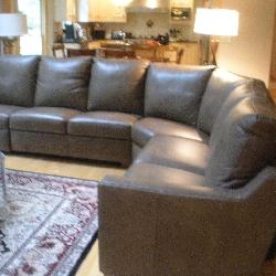 Elite Leather Sofa Like New