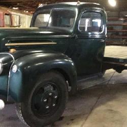 1947 Ford Steak truck, new battery,  new