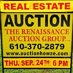 Real Estate Auction Reading, PA