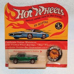 #1 NOS Original Hot Wheels Redline Mercedes-Benz 280 SL.
