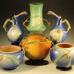 Great Selection of Rosevill Pottery