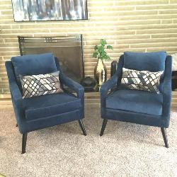 Pair of  Uttermost, O'brien Arm Chairs