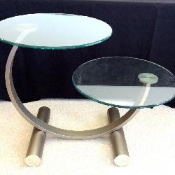 Design Institute of America, 2 Tier Modern Table