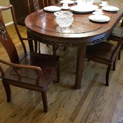 Rosewood hand carved Germany