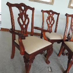 Georgian/Regency style custom order chairs. QTY 10