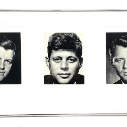 Philippe Halsman John, Robert, Edward Kennedy Photograph
