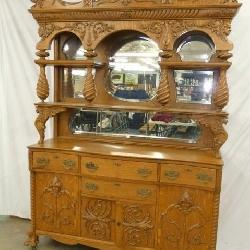 LG ORNATE HOTEL CARVED SIDEBOARD