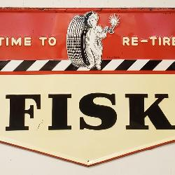 1955 Fisk sign