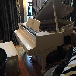 John Lennon Baby Grand Piano