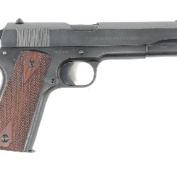 EXTREMELY RARE!! WWI & WWII COLT 1911 .45 PISTOL w/ COLT HISTORY LETTER