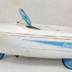 RARE MURRAY DOLPHIN PEDAL BOAT