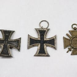WWI military medals
