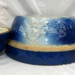 COLLECTION BLUE & WHITE SALT GLAZE