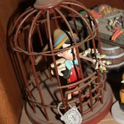 WDCC Pinocchio in the cage