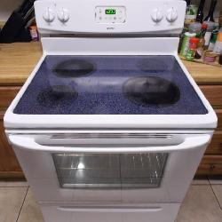 Working Kenmore Glass Top Electric Range Oven - current...