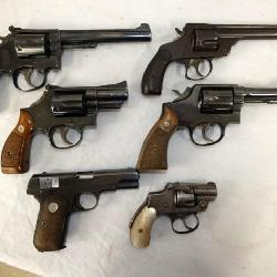 SMITH & WESSON PISTOLS AND OTHERS