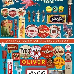 Over 500 lots of vintage advertising