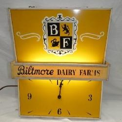 LIGHTED BILTMORE CLOCK/COLLECTION