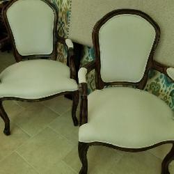 Cream burlap type fabric