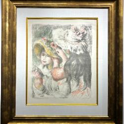 Original Pierre Auguste Renoir Lithograph