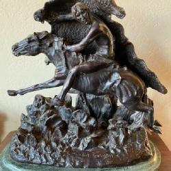 Frederick Remington Bronze Sculpture