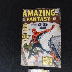 First Appearance of Spiderman