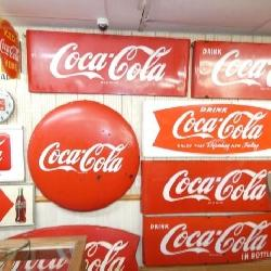 COCA SIGN COLLECTION