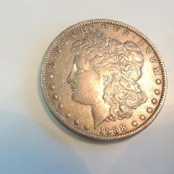 Morgan Silver Dollar 1881 very clean