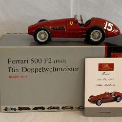 Cmc Gmbh & Co. 1953 Ferrari 500 F2 With Box.