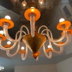 La Murrina Murano art glass chandelier