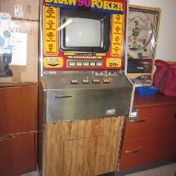 Vintage Draw 90 Poker Machine