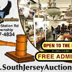 South Jersey Auction by Babington Auction Inc. Logan Township, New Jersey 08085, 40+ Estates and Personal Property Auction including Antiques, Vintage, Mid-Century Moder, New & Brand Name Furniture