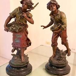 Moreau bronze sculpture, art