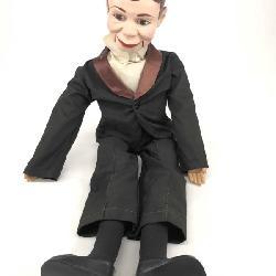 Vintage Charlie McCarthy Bk (1938) & Doll (1977)