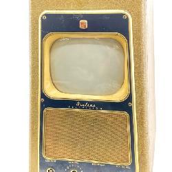 Vintage Montgomery Ward Leatherette Airline TV
