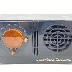 Vintage Stromberg Carlson C3 Tube Clock Radio